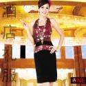 山东省济南市舞台表演服装拉丁舞促图片