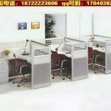 四人位办公屏风-六人组合职员屏风隔断-天津办公屏风定做图片