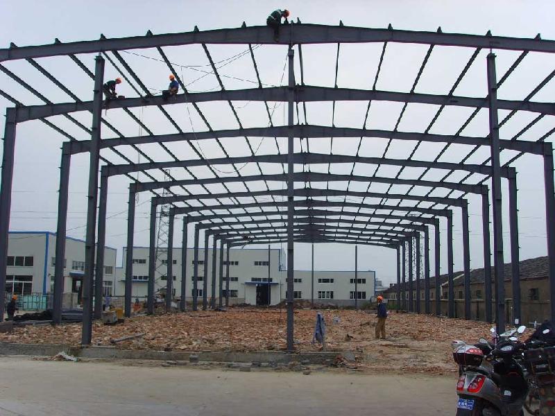 钢结构厂房19图片 钢结构厂房19样板图 钢结构厂房19效果图 上海翼翔钢结构有限公司