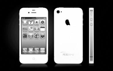 苹果iphone 4官方高清图_表情大全图片