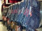 高价收服装牛仔裤收购图片