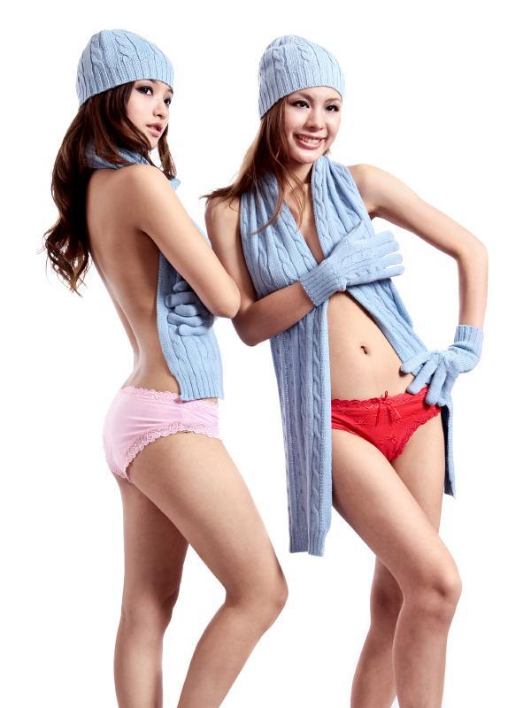 供应欧美品牌女式纯棉三角内裤批发