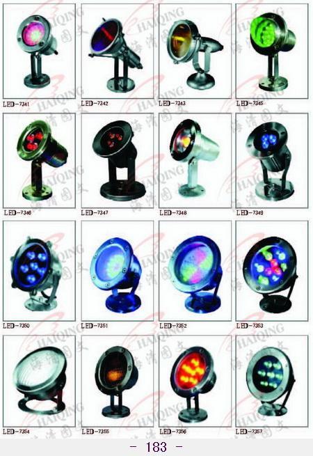 苏州LED水下灯,日光灯,地埋灯