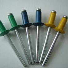 供应5050#铝铁不锈钢304彩色抽芯铆钉-坚字铆接厂家5050批发