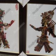 西安皮影收藏皮影相框图片