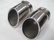 供应奥迪Q7尾喉Q7排气管尾段排气管高品质不锈钢光亮批发