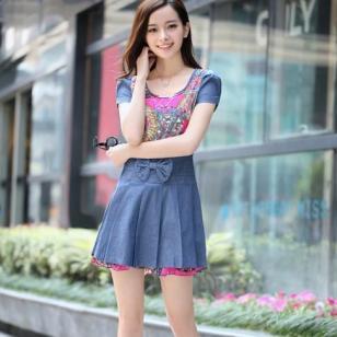 韩版连衣裙清仓低价图片