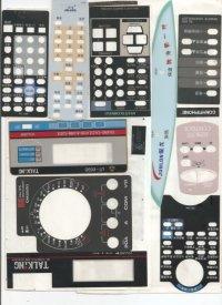 供应遥控器面板遥控器PVC遥控器标牌图片