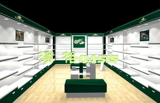 展示柜图片|展示柜样板图|鞋店