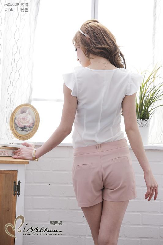 尽情做女人ms5029双层弧形短裤