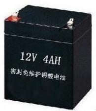 厂家京科铅酸蓄电池4AH图片