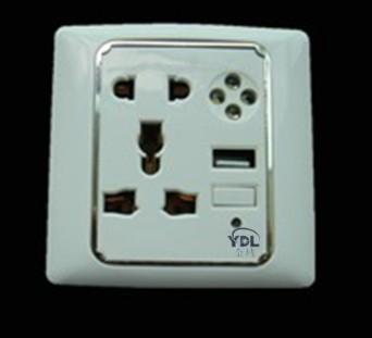 供应多功能墙壁插座USB插座
