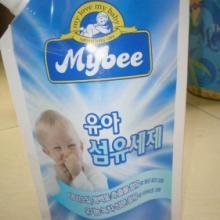 供应韩国婴儿600ML奶粉吸嘴袋,自立吸嘴袋,婴儿用品包装袋