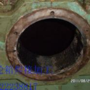 矿山机械零件修复修理缸体裂纹修图片