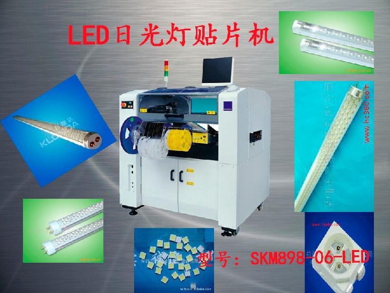 贴片机图片 贴片机样板图 一米二日光条LED贴片机 广州煌...
