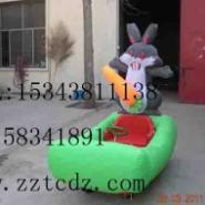儿童户外游乐设备充气电瓶车图片