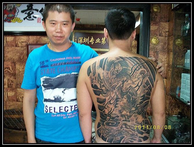 纹身_纹身供货商_供应深圳龙凤纹身深圳纹身
