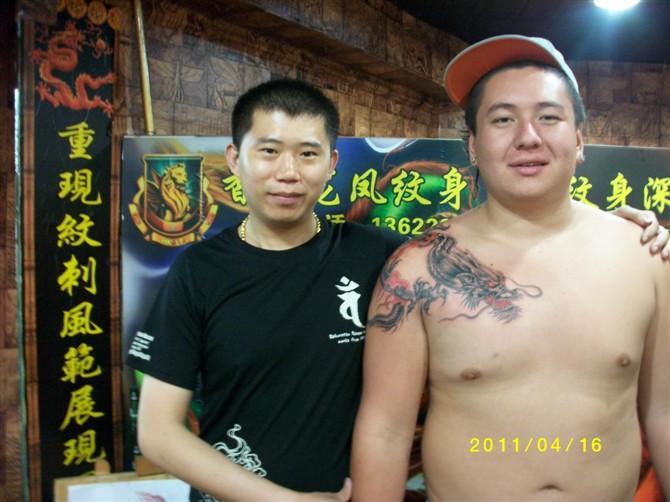 深圳龙凤纹身店生产供应深圳纹身深圳纹身工作室