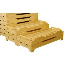 供应幼儿园木制双层床上下床批发