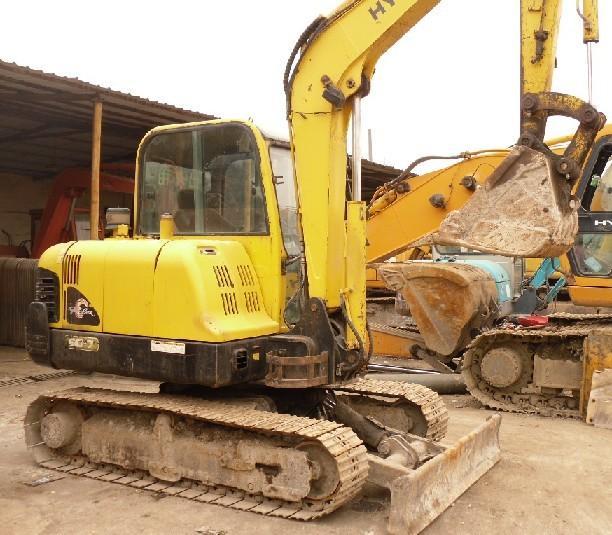 现代607挖掘机二手挖掘机钩机_现代607挖掘机