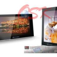 欧视卡品牌17寸落地式楼宇广告机图片
