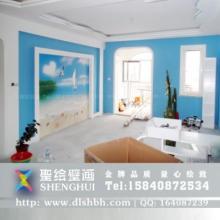 供应大连家居手绘墙彩绘壁画图片