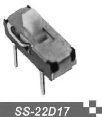 供应拨动开关厂家SS-22D17小型拨动开关SS-22D17
