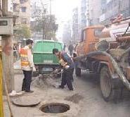 苏州吴江市专业清理化粪池污水池图片