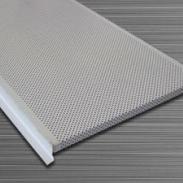 高边防风防震铝条型扣板价格图片