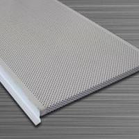 供应高边防风防震铝条型扣板价格
