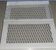 广东冲孔铝网格板厂金属铝网格板供应/批发欧佰天花铝网格板批发