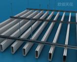 供应铝方通厂家木纹铝方通价格U型方管