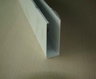 木纹铝方通U型名方通山西铝方通图片