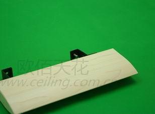 工程首选吊顶材料铝方通天花图片
