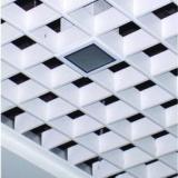 供应江西三角型吊顶铝格栅-江西三角型吊顶铝格栅厂家-木纹六角型吊顶铝格栅安装示意图