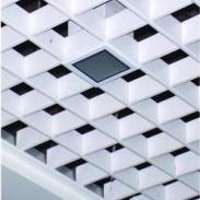 江西三角型吊顶铝格栅图片