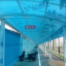 供应阳光板雨棚遮阳雨棚图片