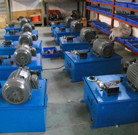 重庆江姗液压机械厂生产供应液压泵站图片