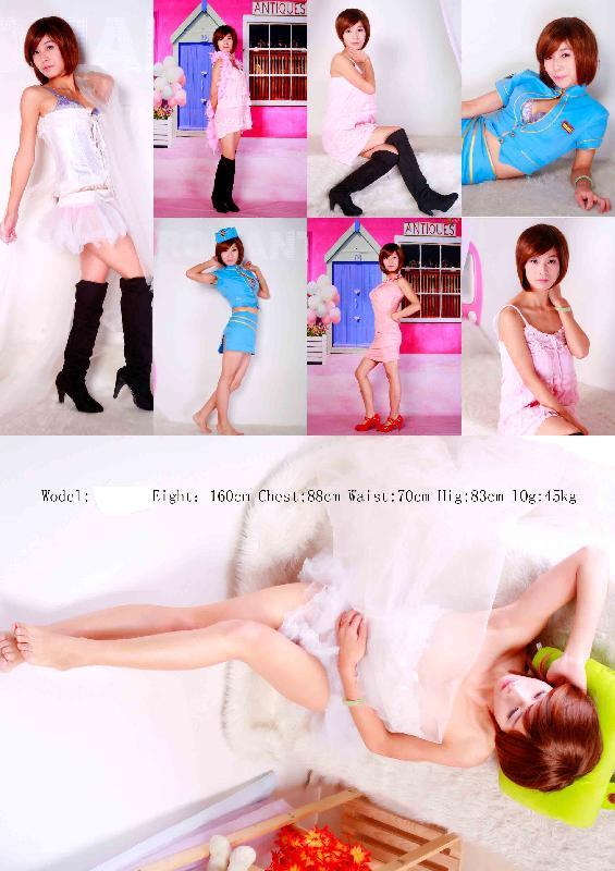 摄影图片|摄影样板图|广州模特卡摄影制作 尚艺