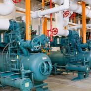 约克低温压缩冷凝机组图片