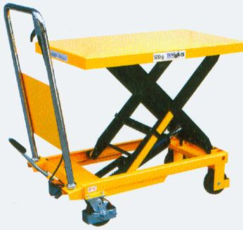 济南天龙液压机械厂生产供应液压升降车图片