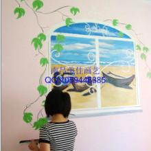 供应南昌墙体彩绘壁画家居装饰图片