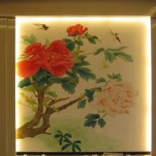 供应南昌背景墙彩绘图片