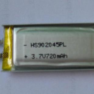 902045锂聚合物电池图片