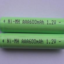 华盛电池供应七号镍氢充电电池、AAA600MAH镍氢电池批发