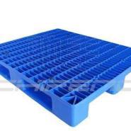 川字平板1111置8钢管塑料托盘图片