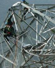 钢架拆除、铁塔拆除,高空拆除公司