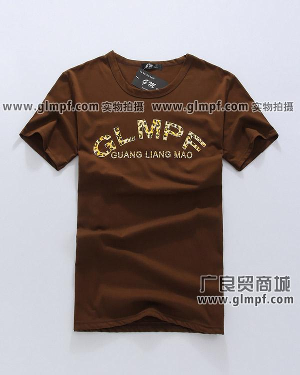 供应男装印花T恤批发男士韩版T恤衫