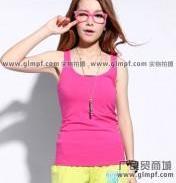 韩版女式背心批发新款女装吊带背心图片