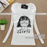 供应韩版女装长袖批发新款长袖女装T恤